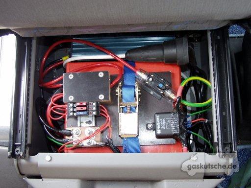 VW T4 Wohnmobil Zweitbatterie einbauen
