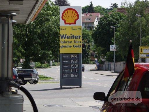 Preise für Super und Diesel im Juni 2008