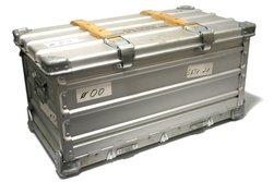 Zarges »Brotkiste«, eine faltbare Aluminium Transportkiste