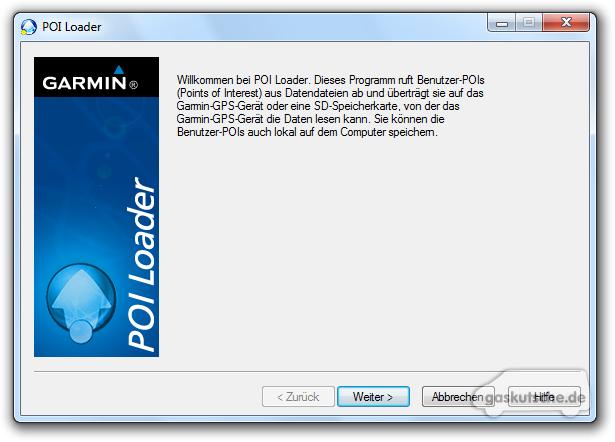 Garmin poi loader download windows 7