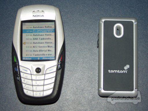 tomtom mobile nokia 6600