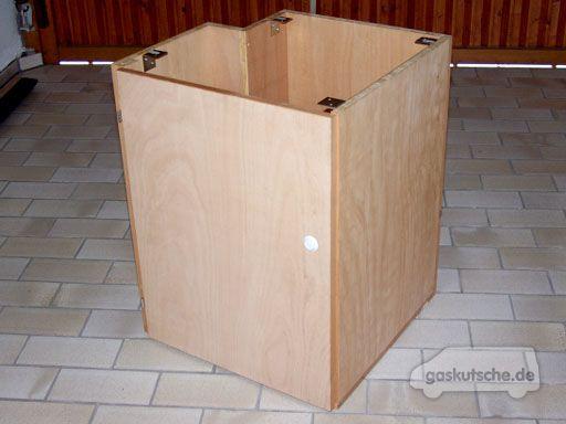 tipps tricks selbstgebauter schrank im t4. Black Bedroom Furniture Sets. Home Design Ideas