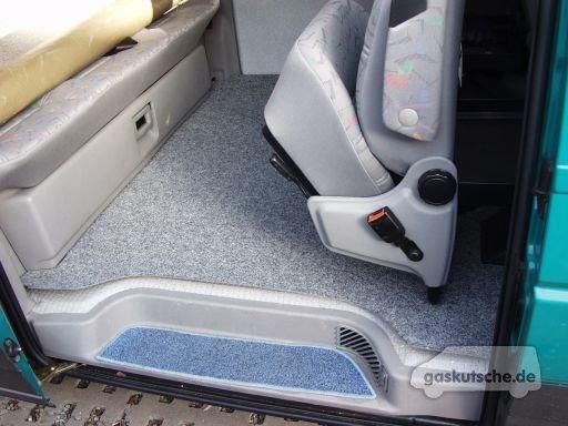 Tipps & Tricks Teppich im Fahrgastraum  gaskutschede